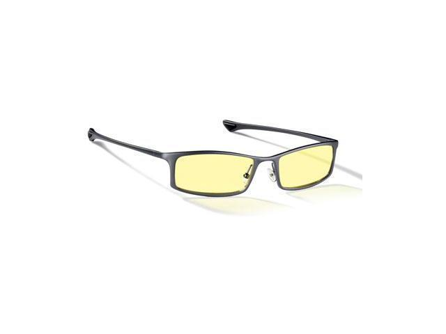 8f083286186 Gunnar Optiks ST002-C001 Optiks Attache Internal Digital Performance Eyewear  Phenom Style Onyx Color Frame