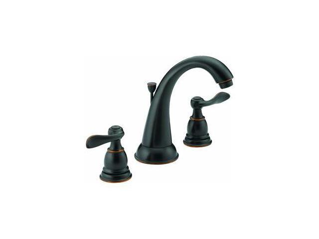 Delta Windemere Oil Rubbed Bronze 2 Handle Widespread: Delta Windmere Oil-Rubbed Bronze Widespread Lavatory