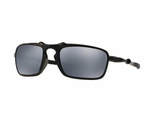 4aa7eb97dfc24 Oakley Badman Sunglasses OO6020-01 Dark Carbon   Black Iridium Polarized
