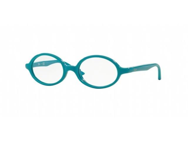 362f07e80e Ray-Ban Junior Vista 0RY1545 Oval Eyeglasses for Youth - Size 42 (Azure On  Rubber Azure)