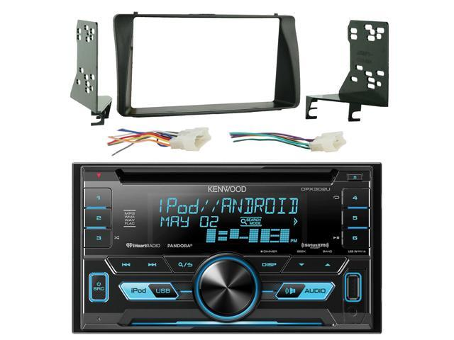 Kenwood DPX302U Double 2 DIN CD Receiver with Front USB & Aux Inputs, on