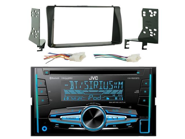 jvc kw-r920bts double din bluetooth in-dash car stereo receiver, metra 70