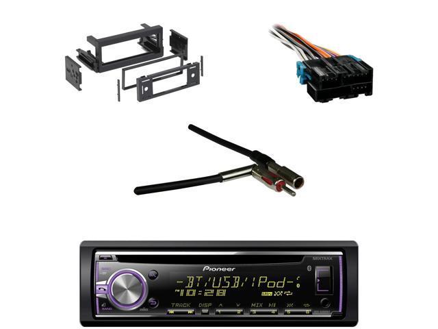 bluetooth pioneer cd car receiver gm wire harness antenna adapter rh newegg com GM Stereo Harness GM Radio Wire Adapter