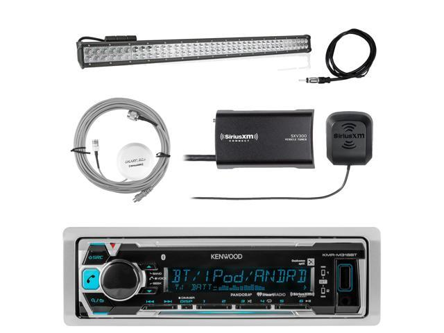 xm radio hook up receiver