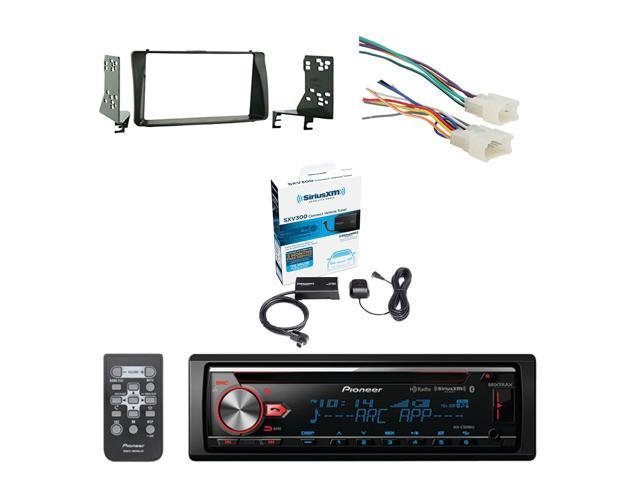 Pioneer CD Bluetooth Receiver W/Enhanced Audio Functions with SiriusXM on