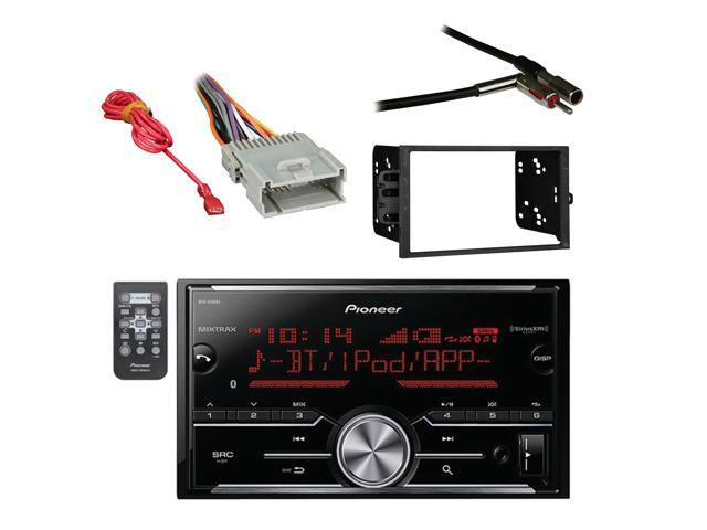 Pioneer Vehicle Digital Media Double DIN Receiver with Bluetooth with on