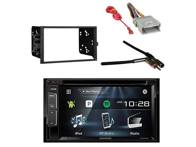 Kenwood Multimedia Receiver, Bluetooth with Metra 2-DIN Installation on stereo amp wiring, subwoofer wiring, kenwood stereo wiring, dvd player wiring,