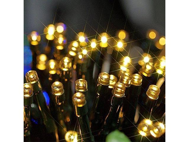 Connectable Solar Power 100 LED Waterproof String Fairy Light for Birthday Wedding & Anniversary Xmas/Chrismas Halloween New Year's Eve - Outdoor