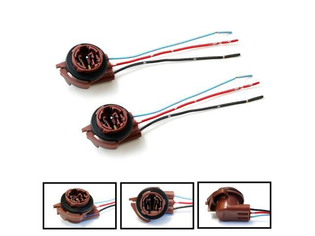 A0WW_131581010786734242pwnVN2pllX ijdmtoy (2) 3156 3157 pre wired harness sockets for repair