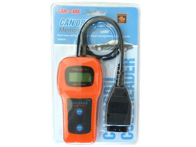 U480 OBDII CAN-BUS Check Engine Auto Scanner Trouble Code Reader - Newegg ca