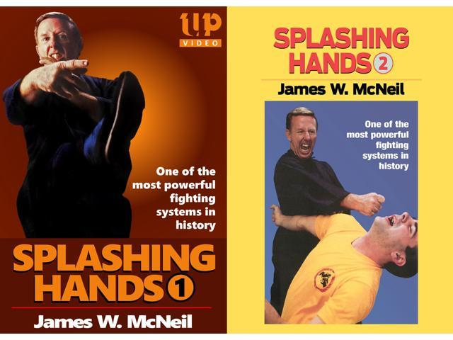 d02ba8a65 2 DVD SET Splashing Hands Kung Fu Advanced Power Fighting System James  McNeil