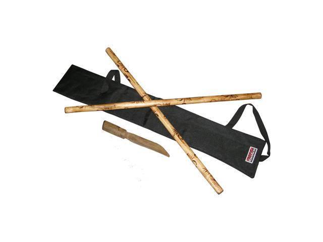 Protection Case NEW Arnis Kali Escrima Sticks Weapons Case Black /& Red