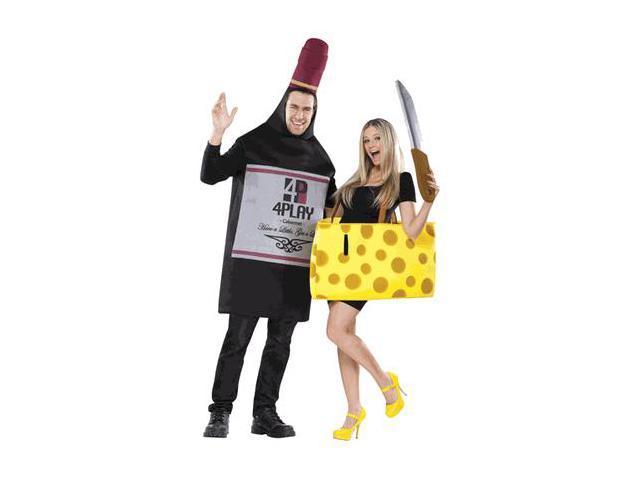 wine and cheese couples costume newegg com