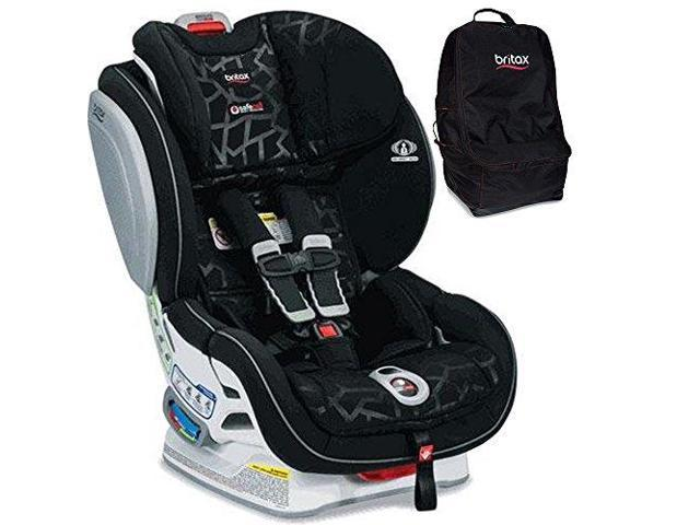 Britax Advocate ClickTight Convertible Car Seat With Travel Bag Mosaic