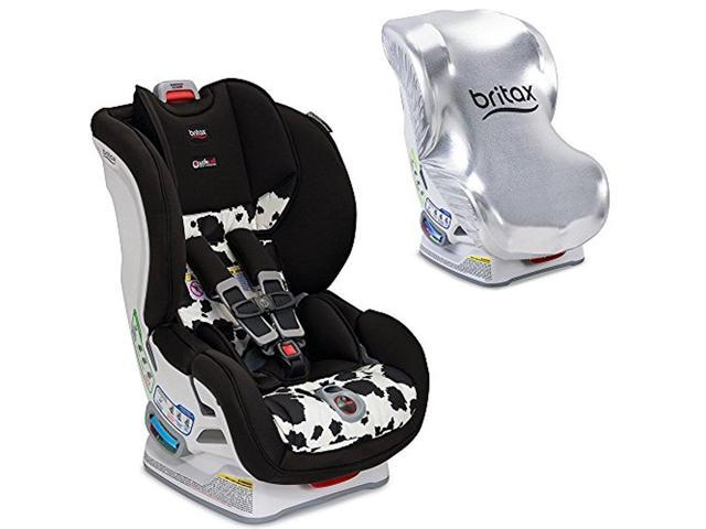 Britax USA Marathon ClickTight Convertible Car Seat With Sun Shield Cowmooflage