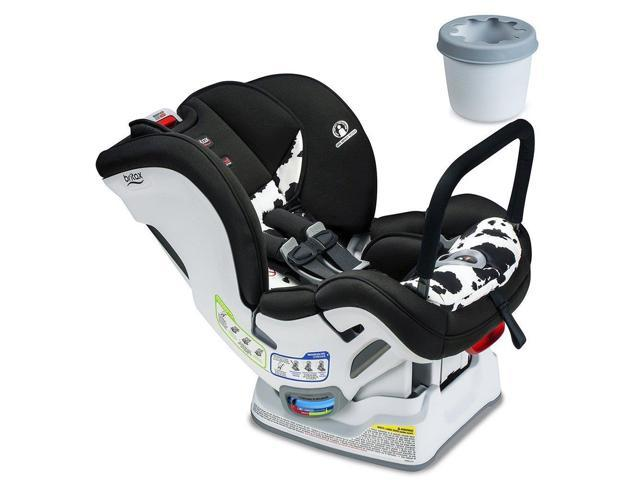 Britax Marathon ClickTight ARB Convertible Car Seat Cowmooflage With Cupholder Set