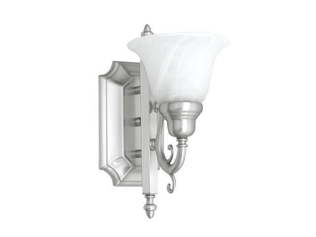 Livex Oldwick Modern Brushed Nickel 3 Light Bathroom: Livex Lighting French Regency Bath Light In Brushed Nickel