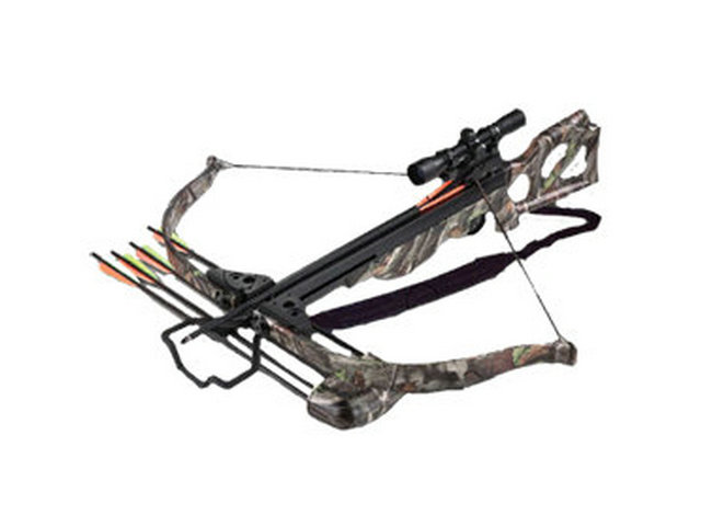 Arrow Precision Inferno Wildfire II Recurve Crossbow Package 4x32 Scope 345  FPS - Newegg com