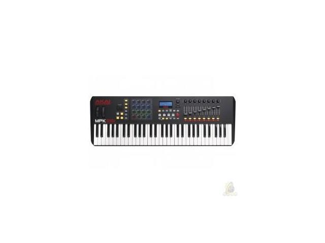 Akai MPK261 Performance USB/MIDI Pad & Keyboard Controller - Newegg com