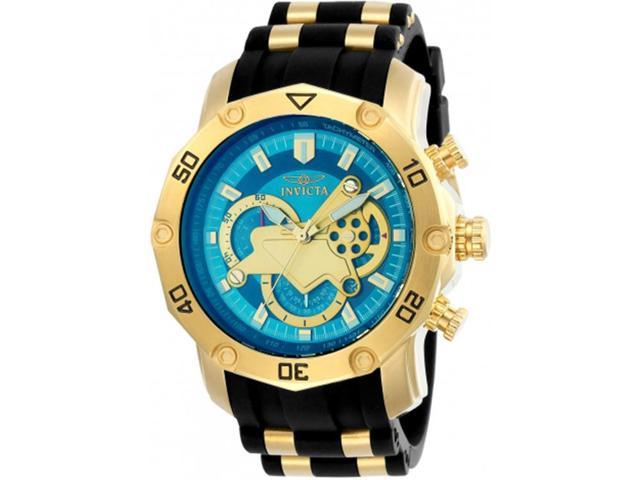 1021303f6 Invicta Men's Pro Diver Stylish Chronograph Watch