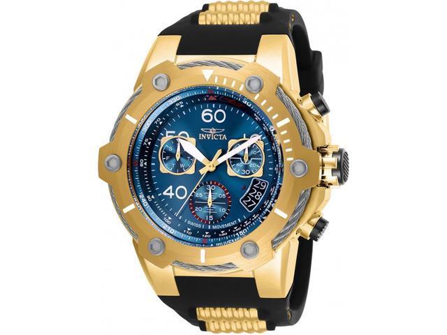 31a2bcb10 Invicta Men's 25873 Bolt Quartz Chronograph Blue Dial Watch - Newegg.com