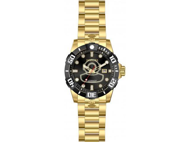 c9b515846 Invicta Men's Pro Diver Automatic 200m Gold Tone Stainless Steel Watch 26979