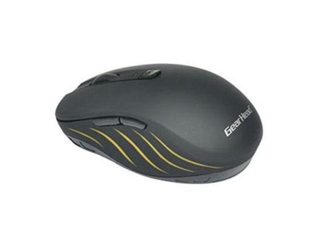 f77e1aa0e36 GEAR HEAD BT9750BLK Black 6 Buttons 1 x Wheel Bluetooth Wireless Optical  1600 dpi Mouse