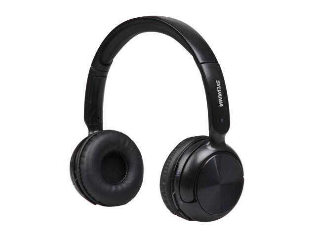 Wireless bluetooth headphones for tv - Sylvania Wireless (Black) Overview
