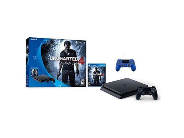 sony playstation 4 500gb console - limited edition blue