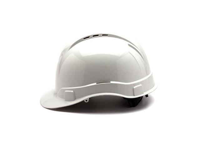 PYRAMEX SAFETY PRODUCTS HP44110V PYRAMEX SAFETY PRODUCTS HP44110V RL Vented  Cap Style 4 Pt Ratchet White - Newegg com