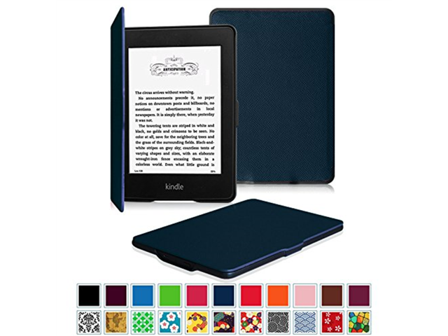 reputable site 496b7 6b117 Fintie SmartShell Case for Kindle Paperwhite - The Thinnest and Lightest  Leather Cover for All-New Amazon Kindle Paperwhite (Fits All versions:  2012, ...