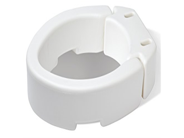 Admirable Carex Health Brands Elongated Hinged Toilet Seat Riser Newegg Com Onthecornerstone Fun Painted Chair Ideas Images Onthecornerstoneorg