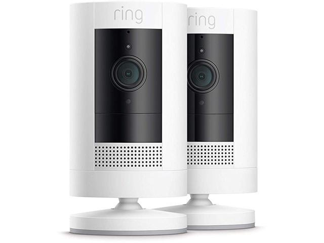 Ring Stick Up Cam Battery HD Security Camera w/ Two-Way Talk - 2019 Model (2-Pack)