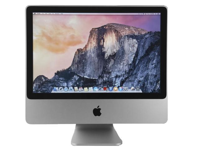 Refurbished Apple Imac 20 All In One Computer Intel Core 2 Duo 2 0