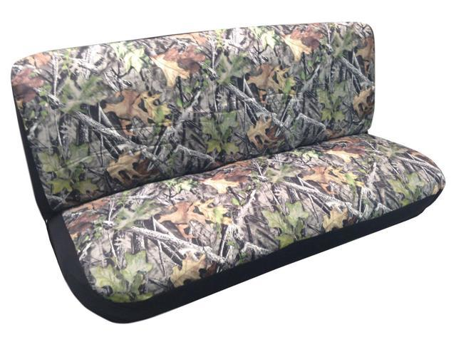 camo bench seat cover camouflage forest gray ford chevy dodge truck
