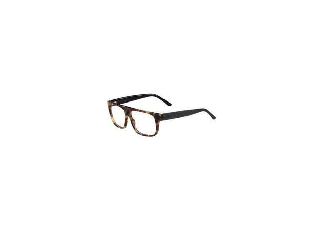 Gucci Mens Eyeglasses 1009/N 555/14 Plastic Rectangle Light Havana ...