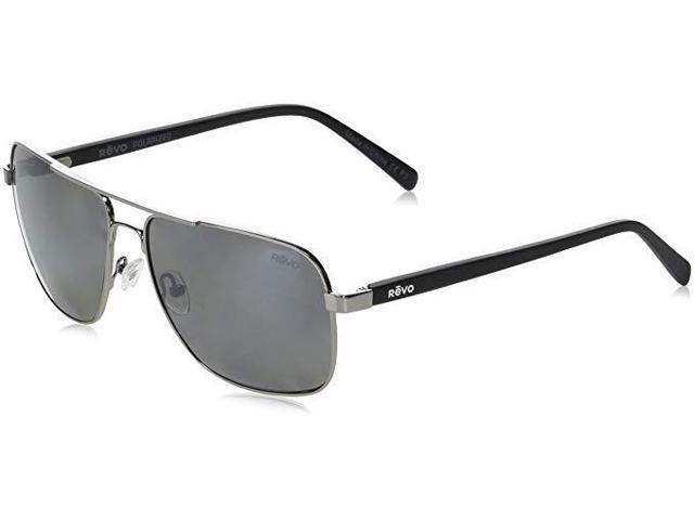 ffa726df96 Revo RE 5022 00 GY Peak Navigator Polarized Aviator Sunglasses ...