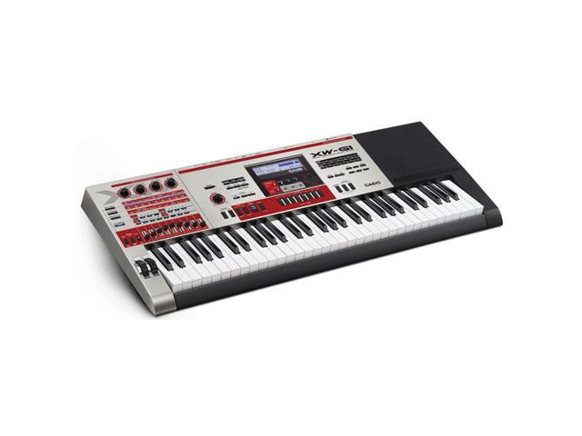 Casio XW-G1 61-Key Keyboard Synthesizer with Built-in Sample Looper -  Newegg com