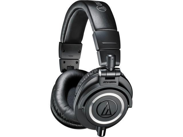 Audio-Technica ATH-M50x Headphones + Headphone Hanger + SL-HP-07