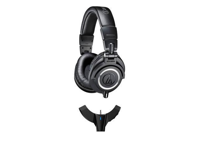 84dedb045e9 Audio-Technica ATH-M50x Over-Ear Monitor Headphones (Black) with FiiO