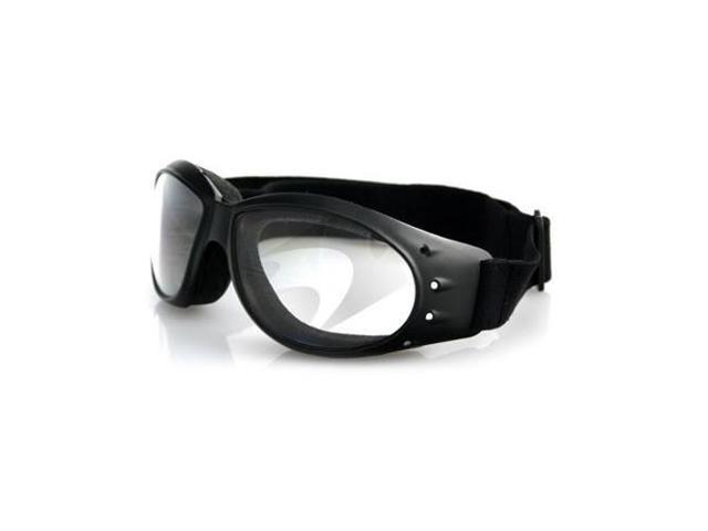 94e0bdd189 Bobster Bobster Cruiser gafas de marco negro, transparente lente antivaho -  Newegg.com