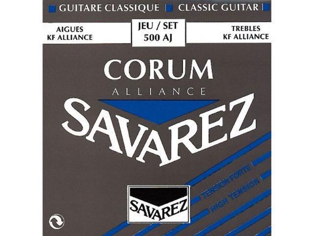 savarez alliance corum high tension blue guitar strings. Black Bedroom Furniture Sets. Home Design Ideas