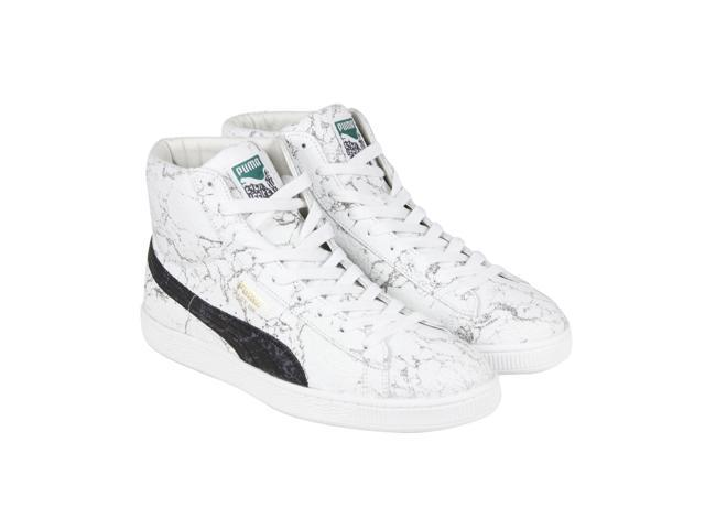 95e109e44d91 Puma States Mid x Alife Marble White Mens High Top Sneakers ...