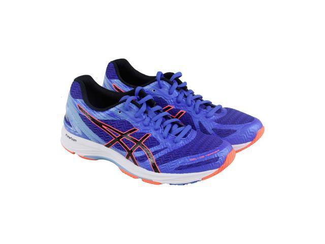 Asics Gel Ds Trainer 22 Blue Purple Black Flash Coral Womens Athletic  Training Shoes 2afcfe35edc