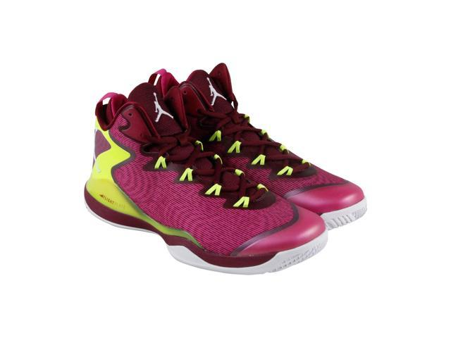 25d147a6ff31 Jordan Jordan Super Fly 3 Deep Garnet White Fusion Pink Volt Mens Athletic  Training Shoes