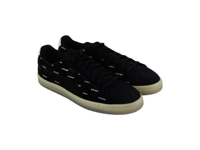 cd911cacceca Puma V2 Pink Dolphin Black Caramel Cream Mens Lace Up Sneakers