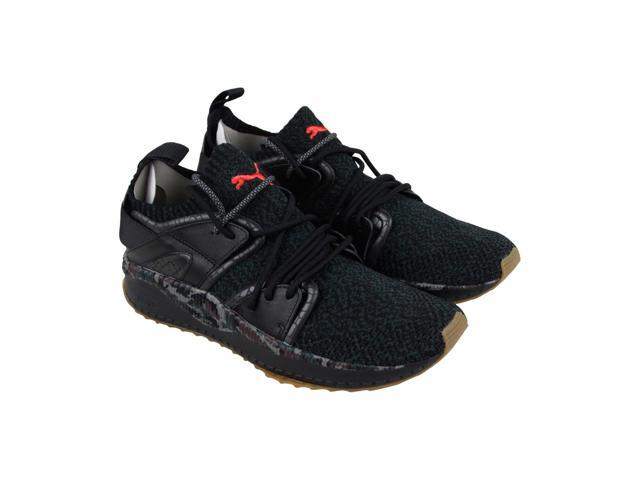 72425609c987b0 Puma Tsugi Blaze Evoknit Camo Puma Black Hot Coral Mens Athletic Training  Shoes