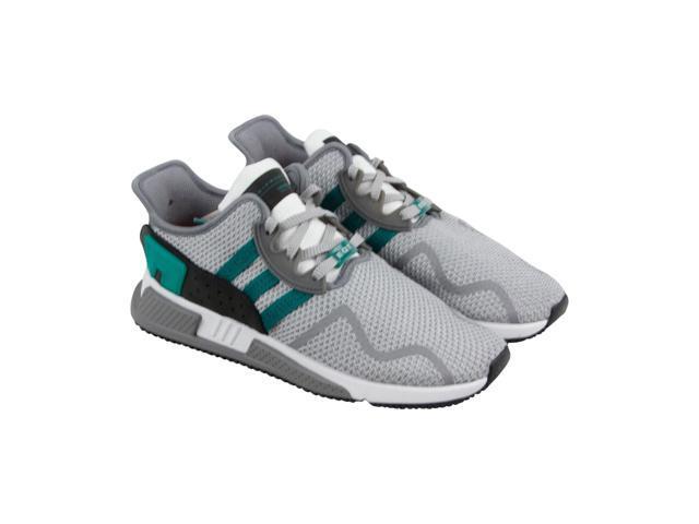 22b18e92f8772 Adidas Eqt Cushion Adv Grey Two Sub Green White Mens Athletic Running Shoes