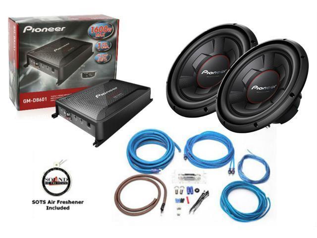 Super Pioneer Ts W306R 12 Subwoofer Gm D8601 Class D Mono Amplifier Wiring 101 Photwellnesstrialsorg
