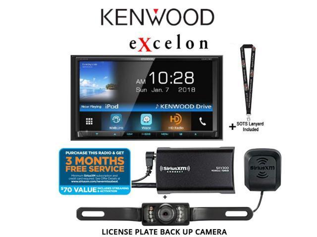 kenwood excelon ddx795 wvga dvd receiver w. Black Bedroom Furniture Sets. Home Design Ideas